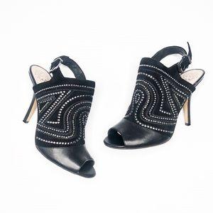Vince Camuto Yolanda Embellished Peep Toe Booties